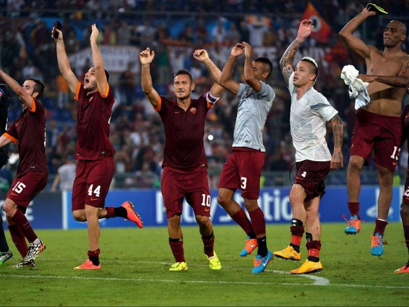 Champions League: Five-Star Roma Sink CSKA Moscow