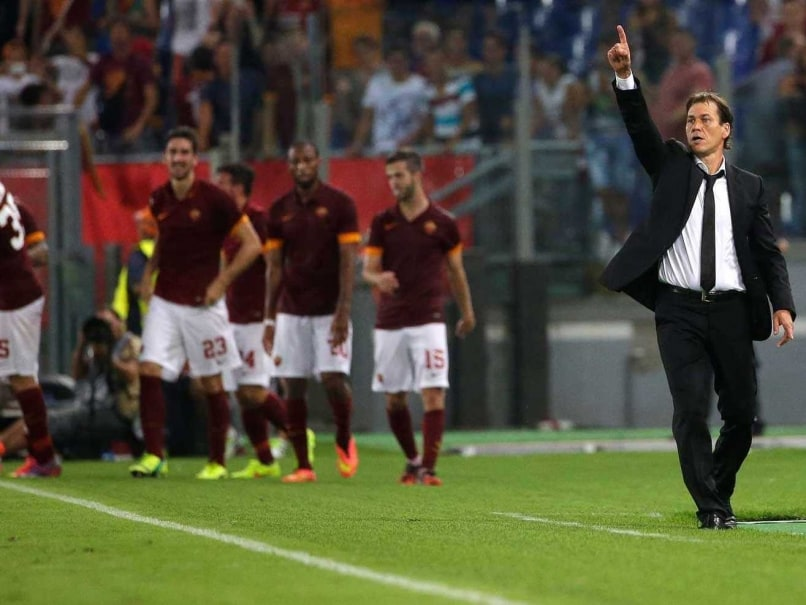 Roma's Return to Champions League a Huge Moment for Coach Rudi Garcia