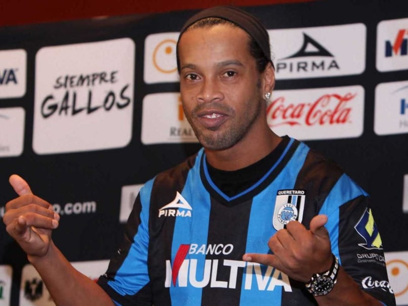 Ronaldinho Eyes More Trophies With Mexican Club Queretaro