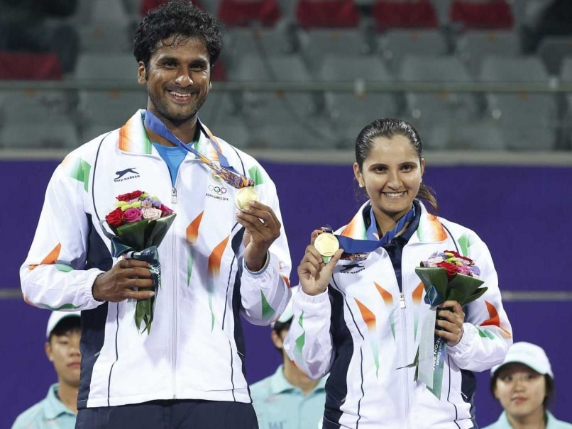 Asian Games 2014: Sania Mirza-Saketh Myneni Win Mixed-Doubles Gold
