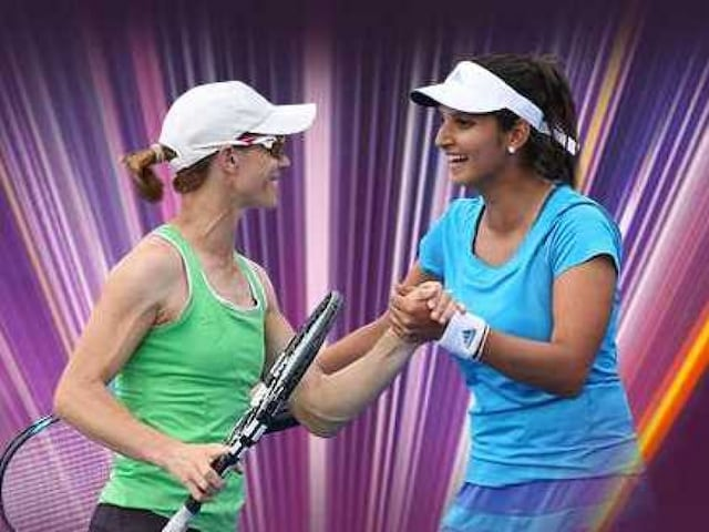 Sania Mirza to Split With Cara Black, Partner Chinese Taipeis Su-Wei Hsieh in 2015