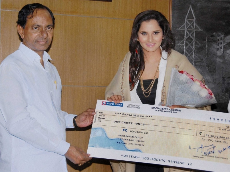 Telangana Government Felicitates Sania Mirza for US Open Win