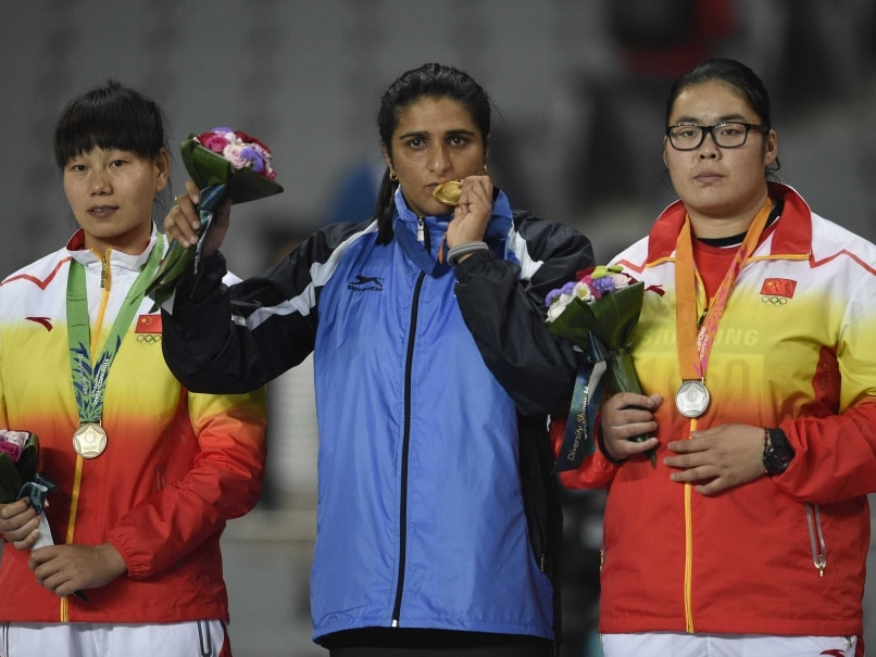 Seema Punia Relieved to Win Asian Games Gold, Sets Sight on Olympic Medal