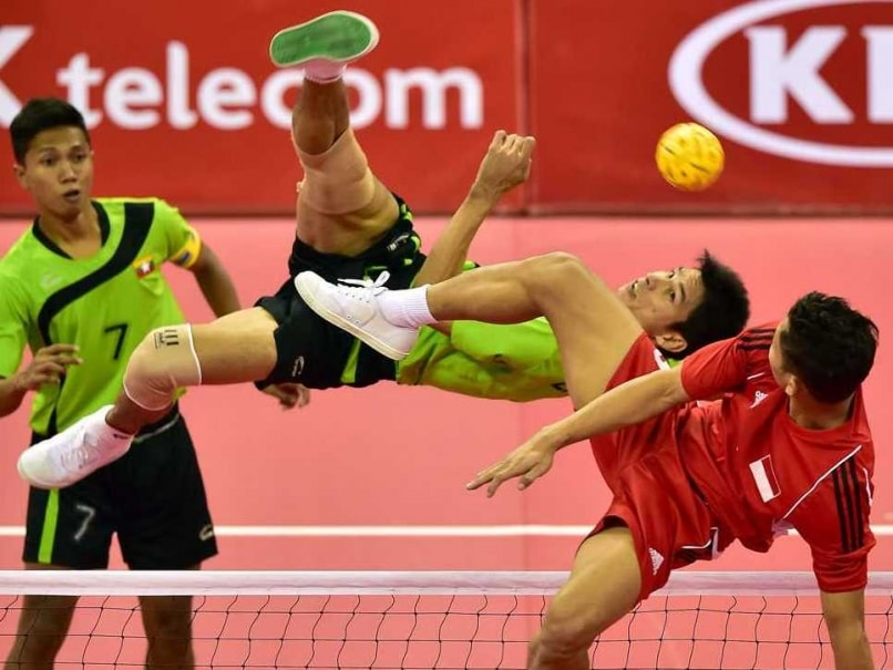 Volleyball, With a Kick: The Esoteric World of the Asian Games
