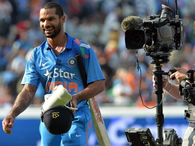 Shikhar Dhawan Thanks Ravi Shastri for Changing India's Fortunes