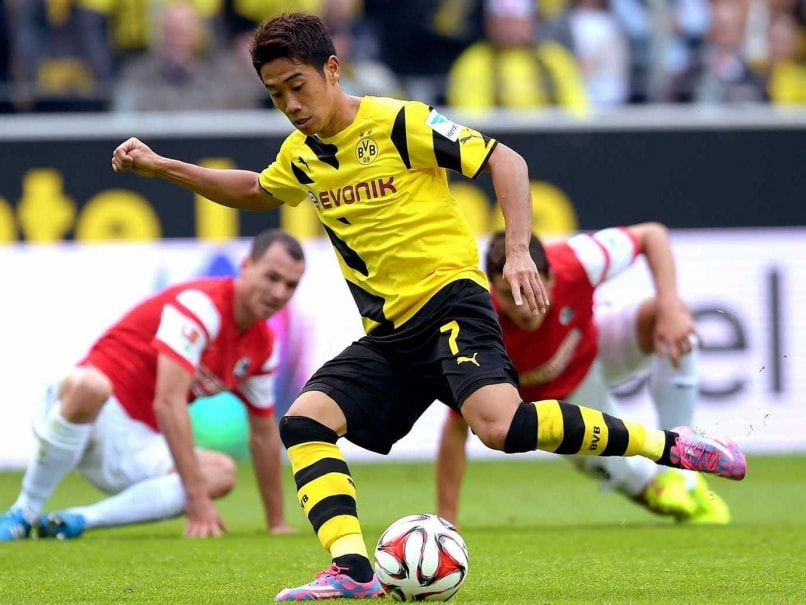 Shinji Kagawa Gives Dortmund Boost Ahead of Arsenal Clash