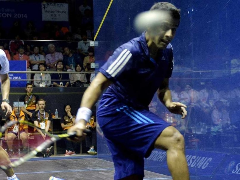 Saurav Ghosal Beats Ryan Cuskelly in World Squash Championship Opener