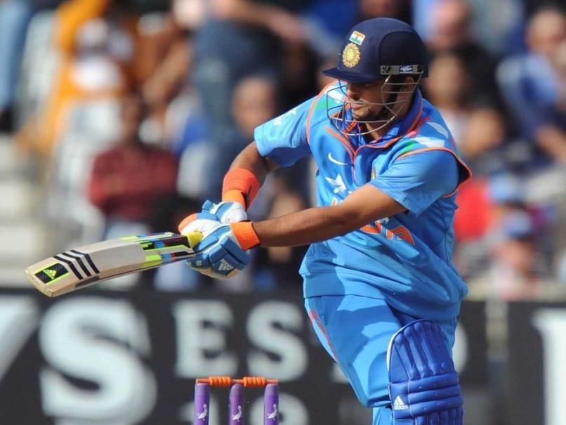 Suresh Raina's Success Mantra? Hitting Hard on Hockey Turf | Cricket