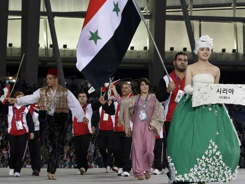 Asian Games: Syrian Swimmers Give