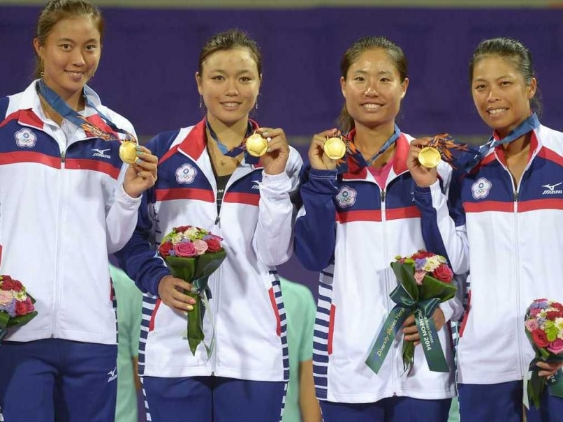 Asian Games: Taiwan Beat China to Women's Team Tennis Gold