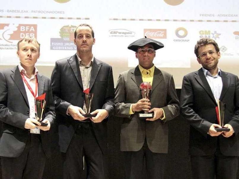 Viswanathan Anand Wins Bilbao Masters Chess