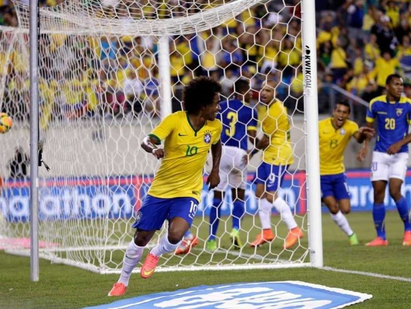 Brazil Have Improved Steadily Under Dunga, Says Willian
