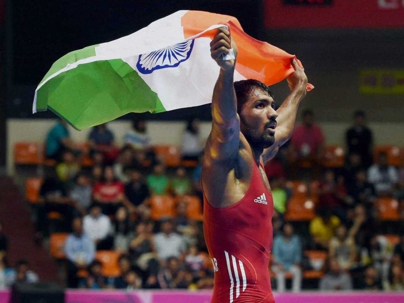 Yogeshwar Dutt gold Asian