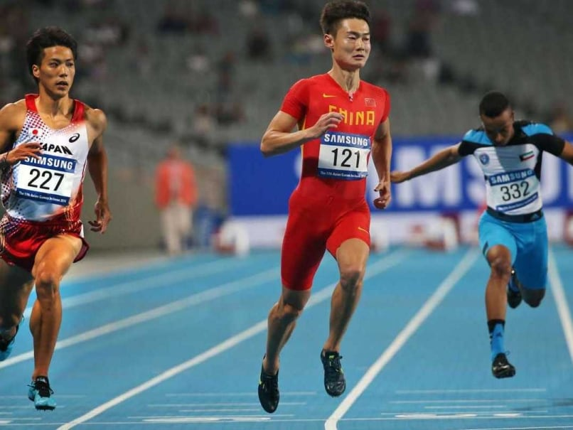 Asian Games: Chinese Flyer Makes 100m Semis