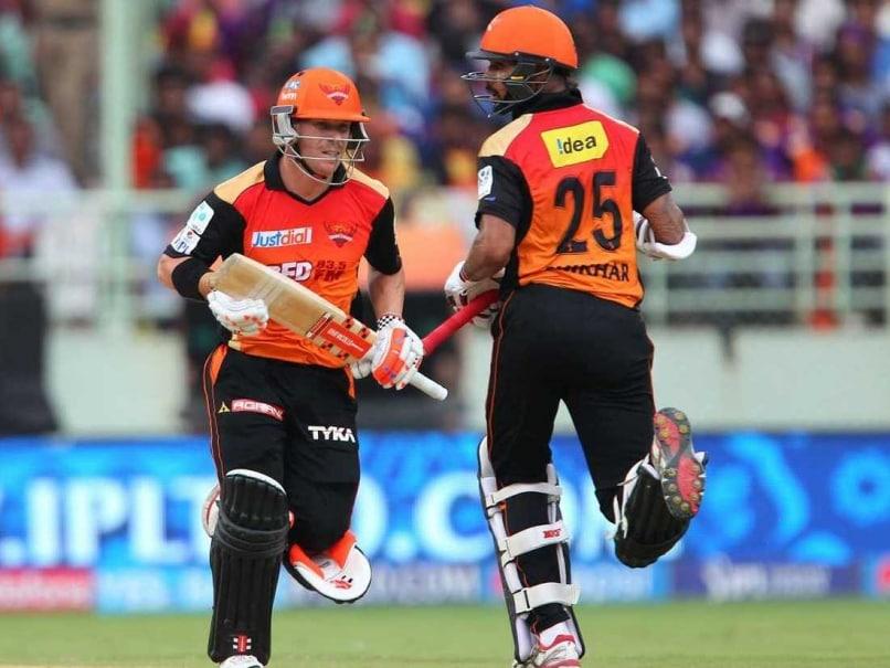 IPL 8: David Warner, Shikhar Dhawan Script 16-Run Win (D/L) Over Kolkata Knight Riders