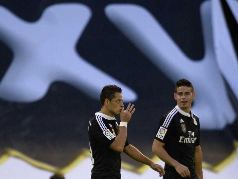 359653dc5 Javier Hernandez Stars for Real Madrid in Six-Goal Thriller ...