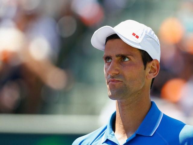 Novak Djokovic Says Sorry To Ball Boy After Outburst At Miami Open Final Tennis News