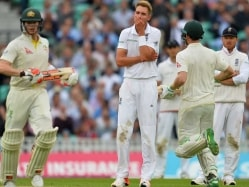The Ashes: Michael Clarke Fails But David Warner, Steve Smith Fifties Lift Australia