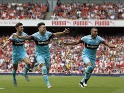 Petr Cech Fluffs Lines as West Ham Stun Arsenal at Emirates