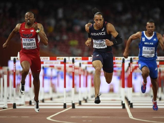 World Athletics: USAs Aries Merritt Storms Into 110m Hurdles Final Days Before Kidney Transplant