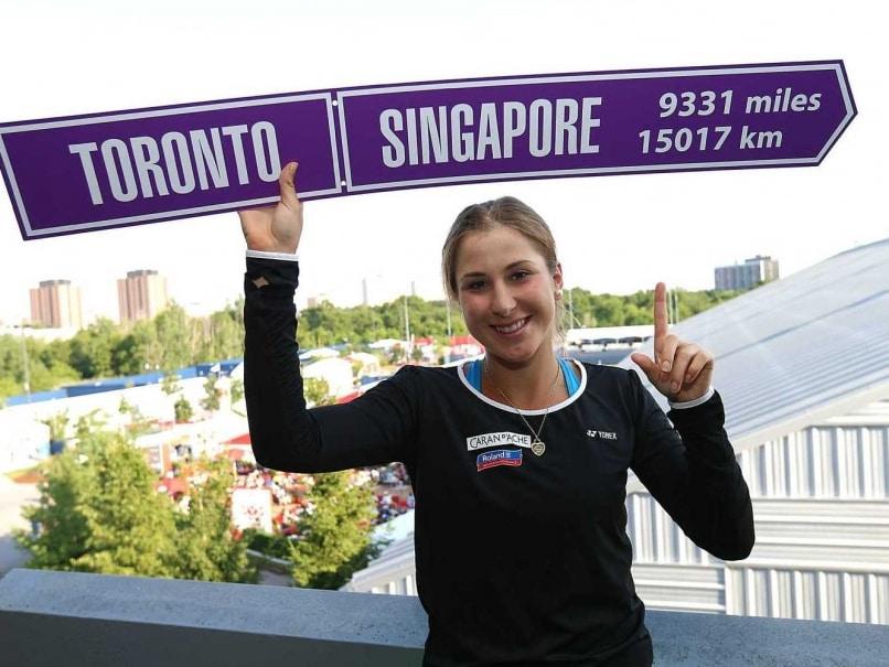 Belinda Bencic Outlasts Simona Halep to Win Rogers Cup
