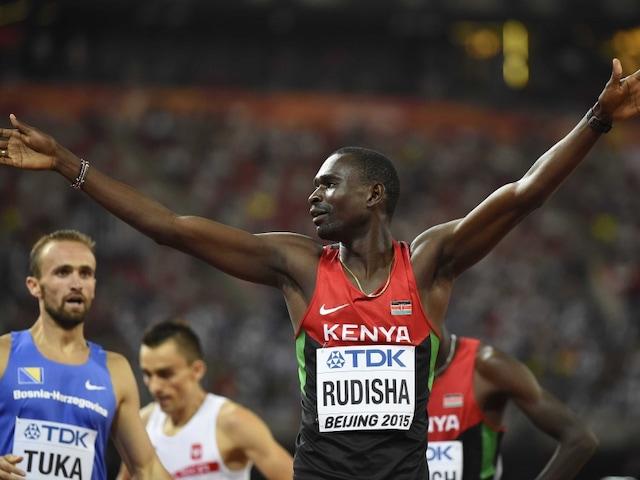World Athletics: David Rudisha of Kenya Wins Second 800m Title