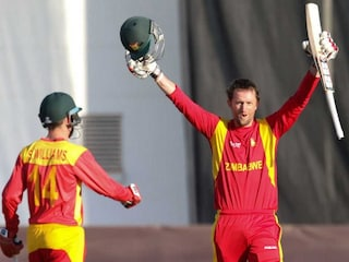 Craig Ervine Guides Zimbabwe to Stunning Win Over New Zealand