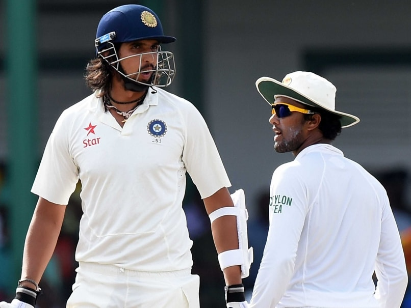 Ishant Sharma Suspended for One Test After Verbal Altercation With Sri Lanka
