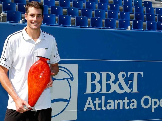 John Isner Wins Third Straight ATP Atlanta Title
