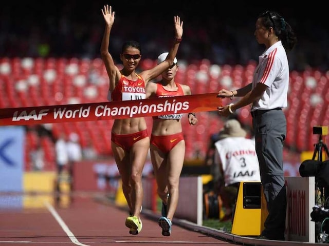World Athletics: Liu Hong Breaks China Gold Drought, Ashton Eaton Leads Decathlon