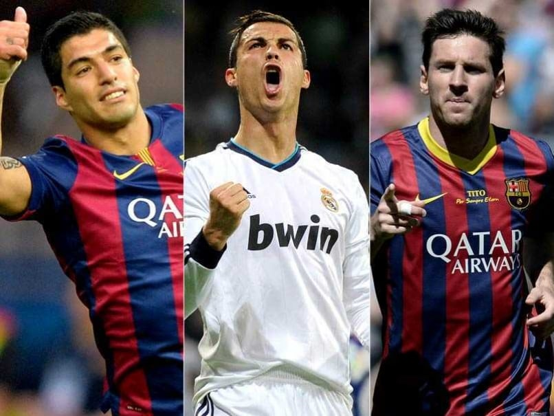 Lionel Messi Cristiano Ronaldo Luis Suarez Shortlisted For Uefa