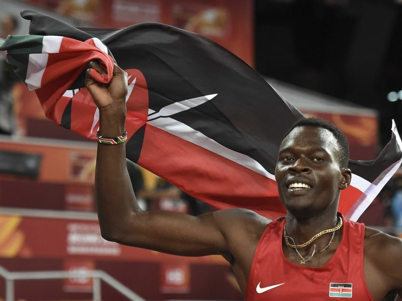 World Athletics Nicholas Bett Wins Men