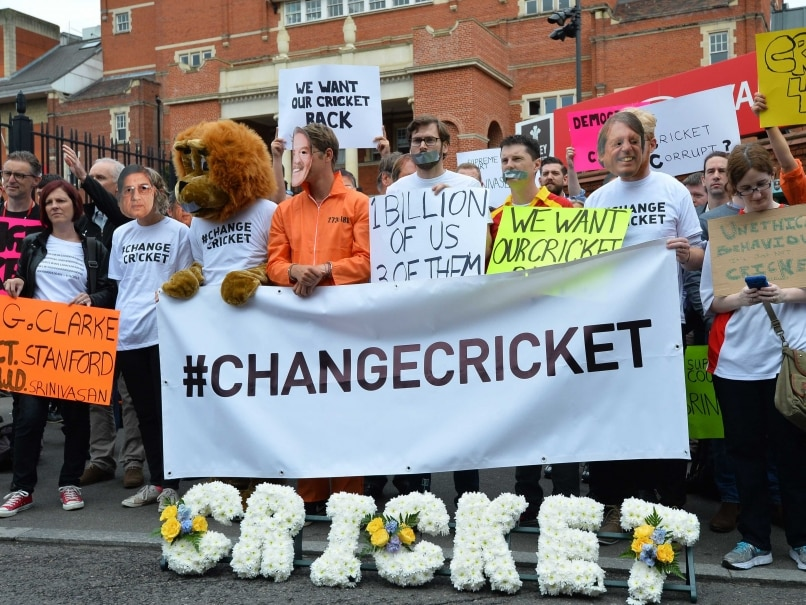 The Ashes: Protest at The Oval Over Big Three Takeover