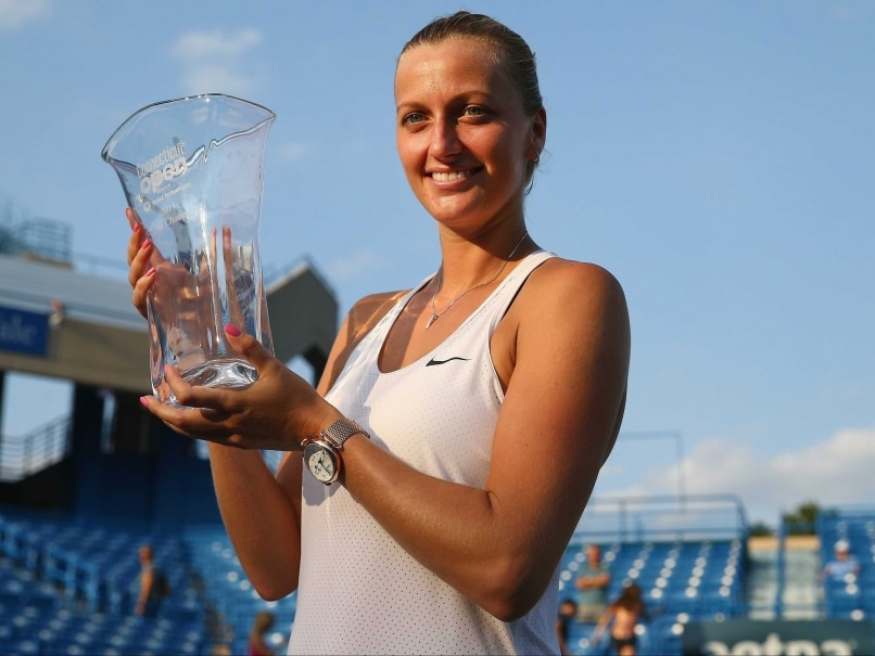 Petra Kvitova Downs Lucie Safarova to Win Third New Haven Title