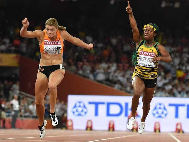 Shelly-Ann Fraser-Pryce Fraser-Pryce Storms to World 100m Title