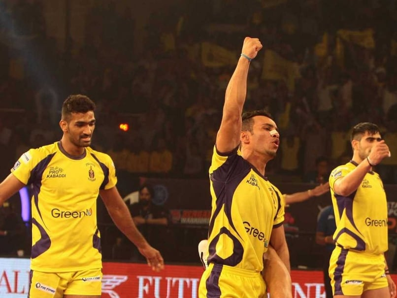Pro Kabaddi League: Telugu Titans Crush Bengal Warriors