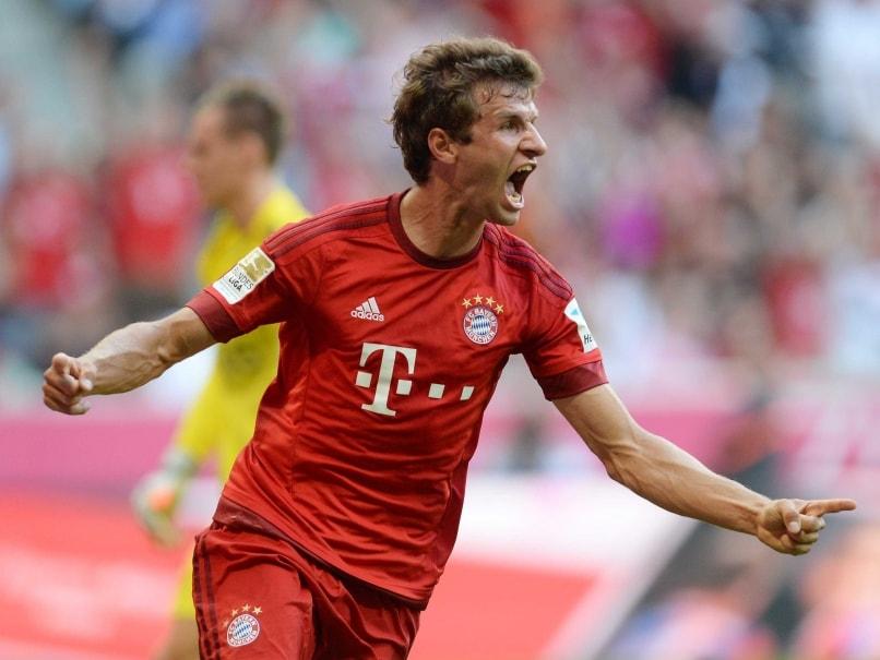 Thomas Mueller At the Double as Bayern Munich Beat Bayer Leverkusen 3-0