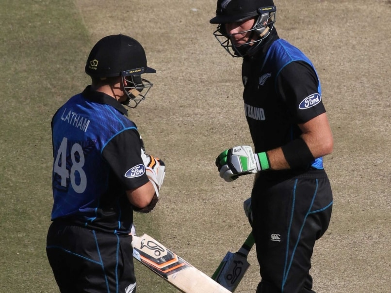 Martin Guptill, Tom Latham Smash Unbeaten Tons to Thrash Zimbabwe by 10 Wickets