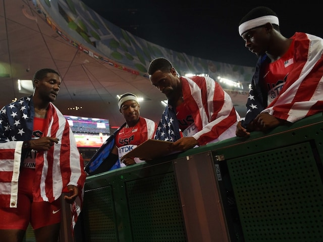 World Athletics Championships: Treble Gold for Usain Bolt as Bungling USA Disqualified