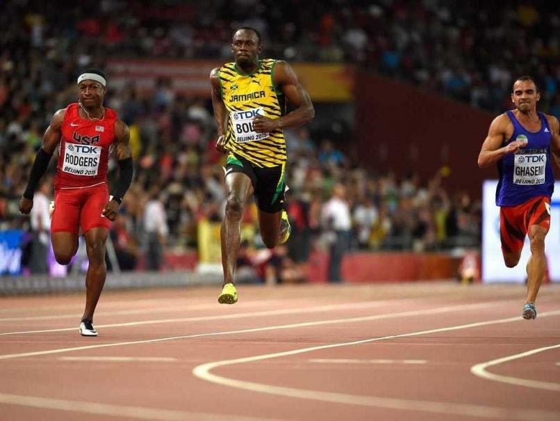 Usain Bolt, Justin Gatlin Cruise into Semifinals of World 100m