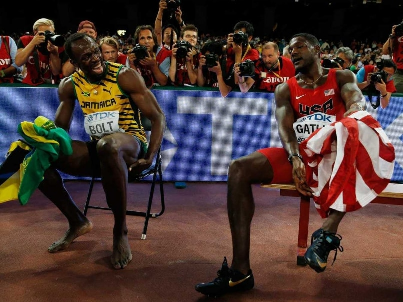Usain Bolt Shows Justin Gatlin Who