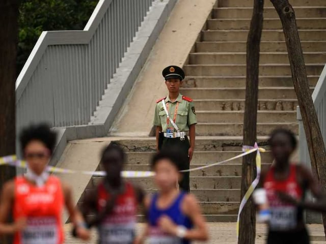 O.P. Jaisha Sets New National Record at World Athletics