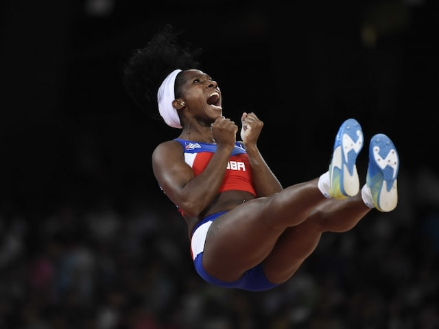 World Athletics: Yarisley Silva of Cuba Wins Womens Pole Vault