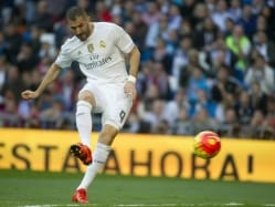 Karim Benzema at Real Madrid Training After French Suspension
