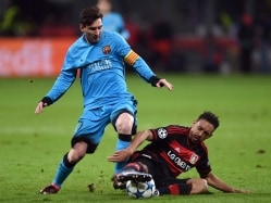 Champions League: Messi Scores But Barcelona Held By Bayer Leverkusen