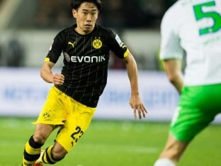 Bundesliga: Shinji Kagawa Rescues Borussia Dortmund to Trim Bayern Munich's Lead
