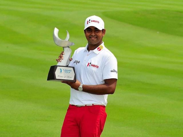 Anirban Lahiri Savours Winning Asian Tours Order of Merit Crown