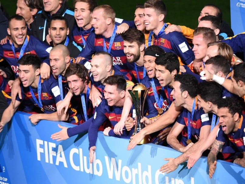Lionel Messi Scores As FC Barcelona Beat River Plate To Win FIFA Club World Cup