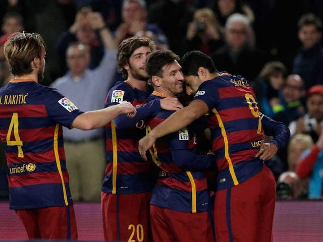 Barcelona Fined by UEFA For Separatist Flags During Champions League Game