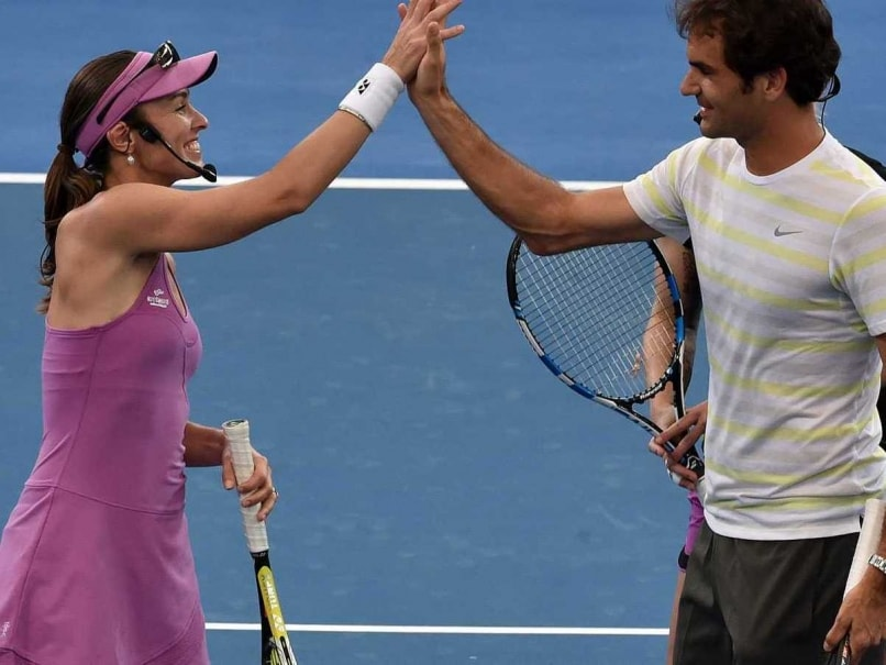 Roger Federer Confirms He Will Partner Martina Hingis at 2016 Rio Olympics